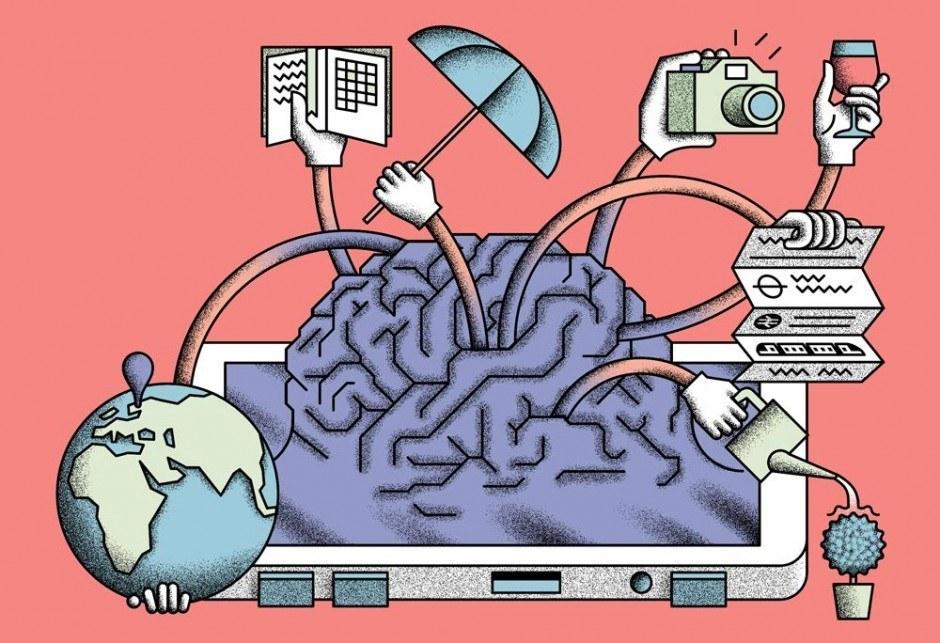 Editorial illustration für WIRED UK