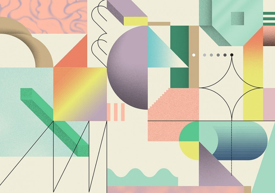 »Cosmic Sorbet« Umschlaggestaltung für Wrap Magazine