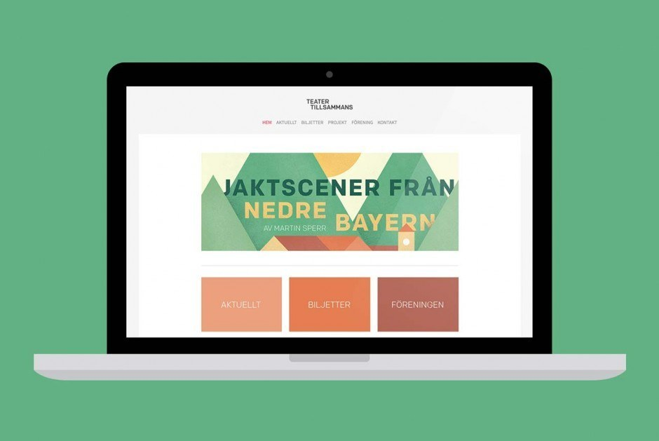 Teater Tillsammans Website