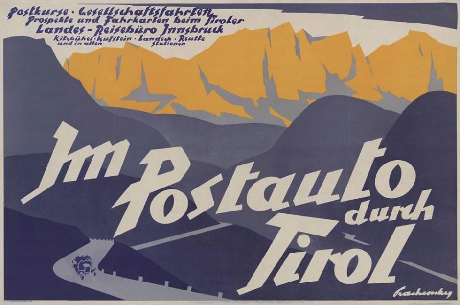 1926, Plakat, 106 × 70,3 cm, Tiroler, Landesmuseum Ferdinandeum