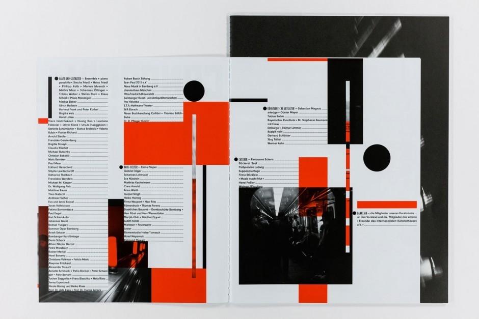 Das offizielle Magazin des Internationalen Künstlerhauses Villa Concordia in Bamberg