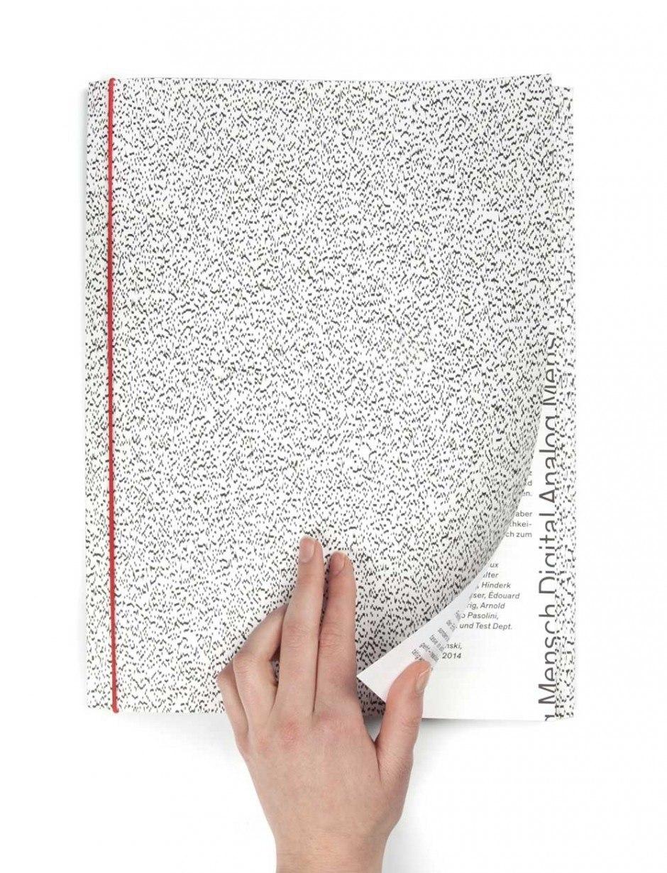 Katalog zur Ausstellung »Analog Mensch Digital – Design an der Schnittstelle«