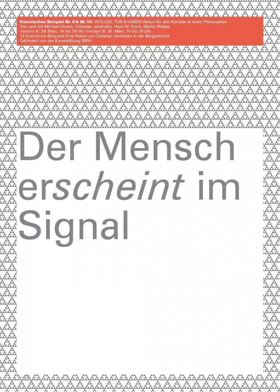 Plakatserie zu den Aufführungen von Klangkünstler Christian Jendreiko