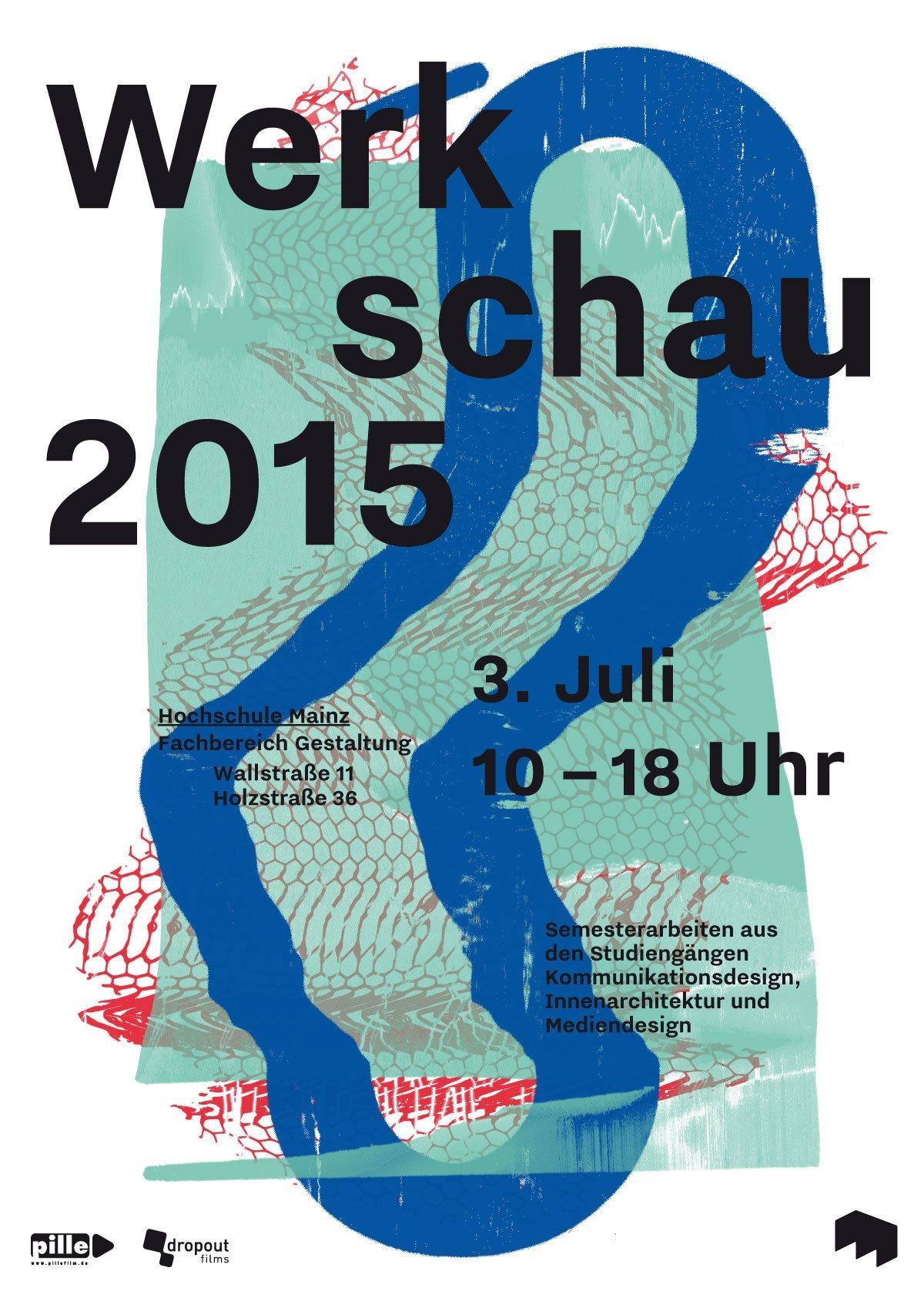 Werkschauplakat_Mainz2015