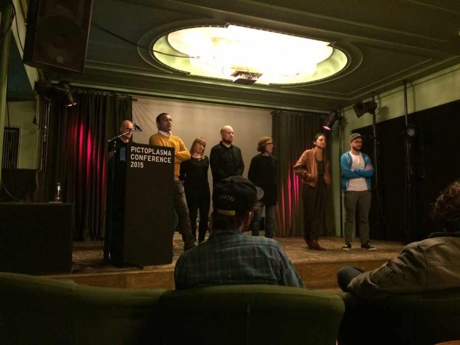 Die Teilnehmer des zweites Tages des Pictoplasma Character Forums 2015
