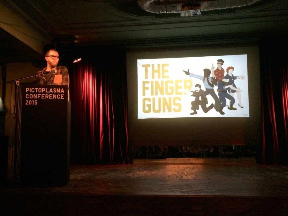The Finger Guns von Adolf Rodriuez Guillen