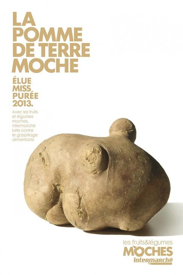 Schon wieder preisgekrönt: die Kampagne der Pariser Agentur Marcel für »missratenes« Obst und Gemüse bei der Supermarktkette Intermarché