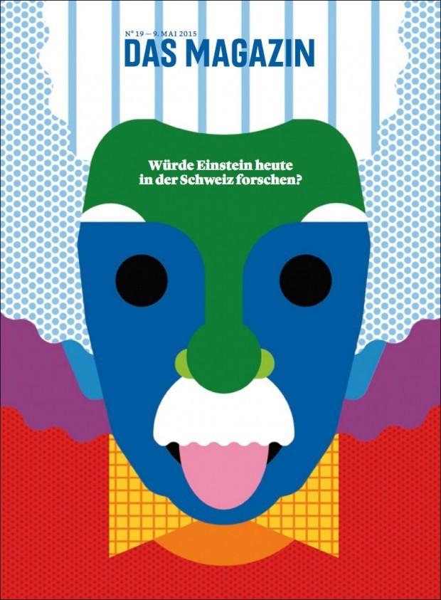 Das angesagte britisch-amerikanische Duo Craig & Carl lieferte ein geniales Einstein-Porträt für »Das Magazin«, die Wochenendbeilage von vier Schweizer Tageszeitungen http://www.craigandkarl.com