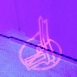 Peace! Pikrogramm-Projektionen von Haarhaven&Uestion