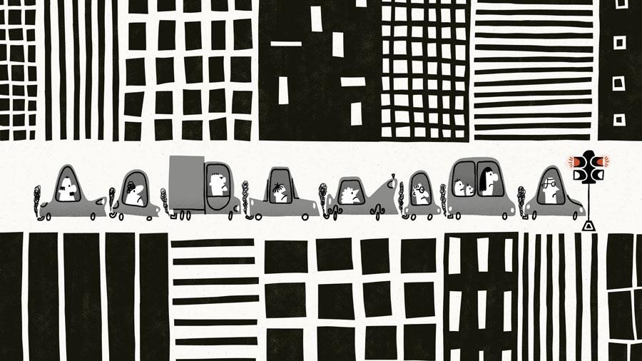 Nate Theis, Driving, Animated Com Award