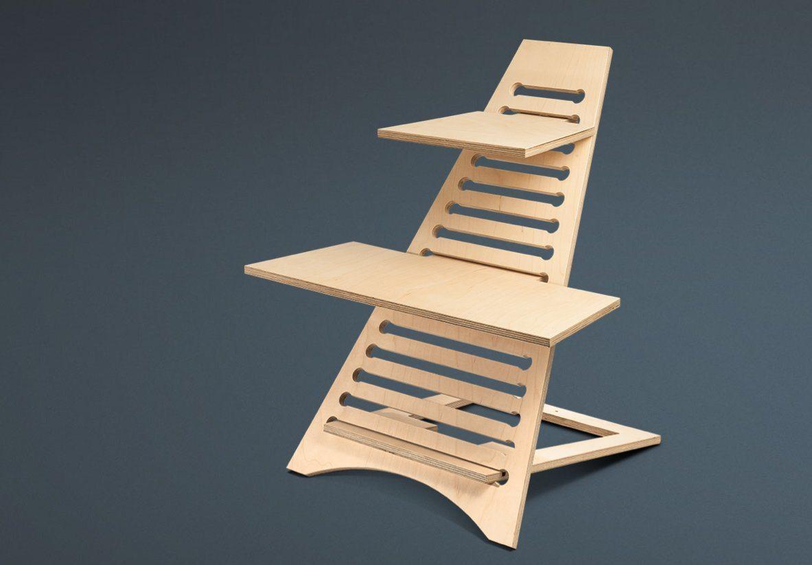 schreibtischaufsatz stehpult b rozubeh r. Black Bedroom Furniture Sets. Home Design Ideas
