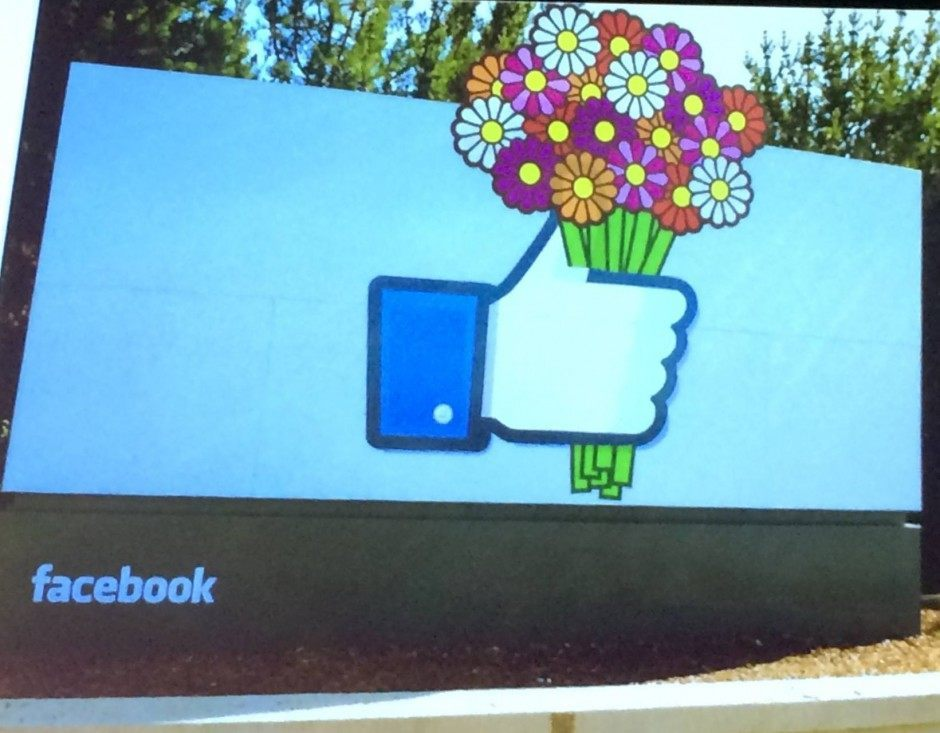 Muttertag in den Facebook Headquaters von Josh Higgins