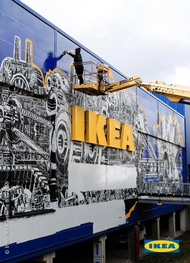 street art kuenstler  city fuer ikea page