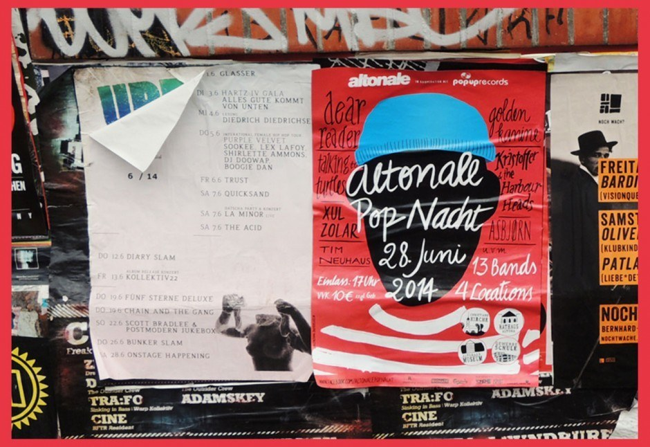 Altonale Pop Nacht 2014 Poster