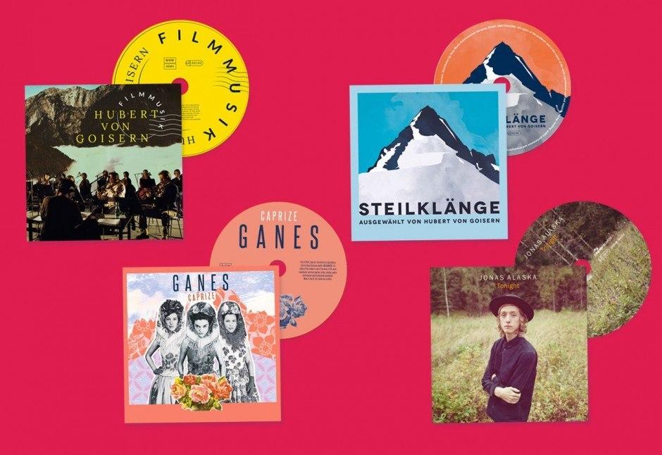 CD Gestaltung, Blanko Musik, Ganes, Jonas Alaska