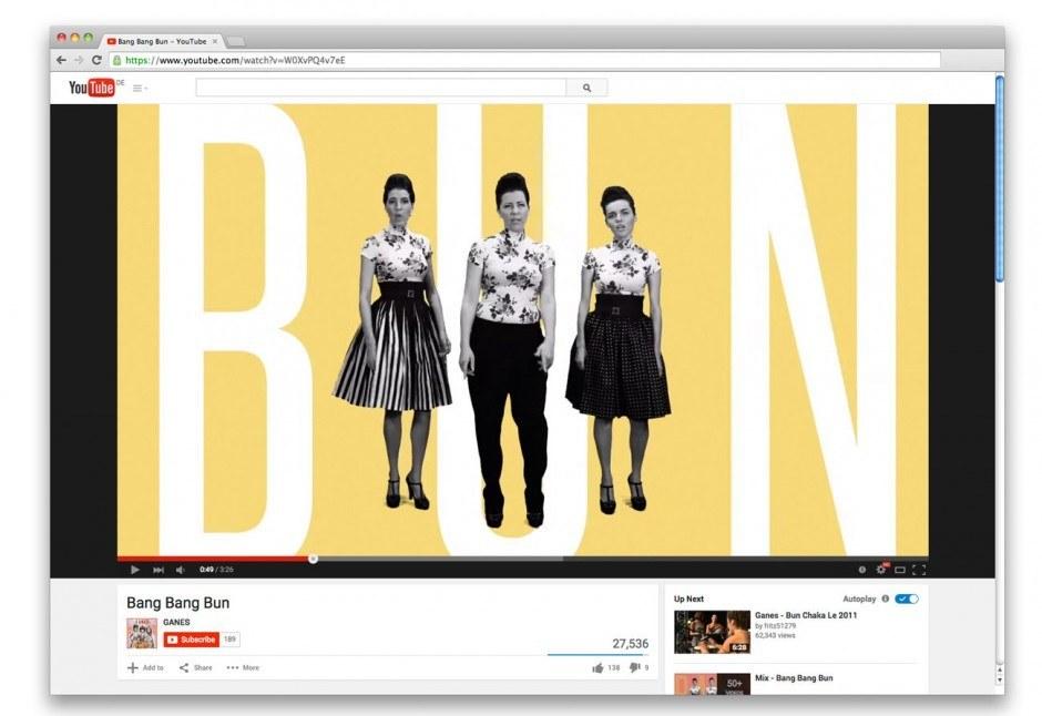 Ganes- Bang Bang Bun Video
