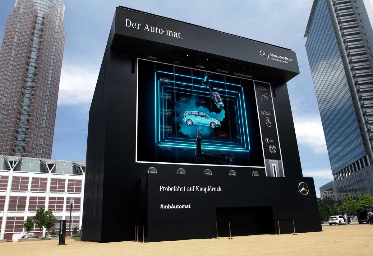 Auto-mat, Mercedes Benz, Kampagne, Avantgarde, Agentur
