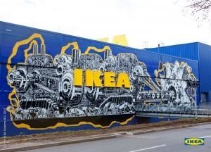 Street Art, M-City, Ikea, Street Art Artist, Künstler