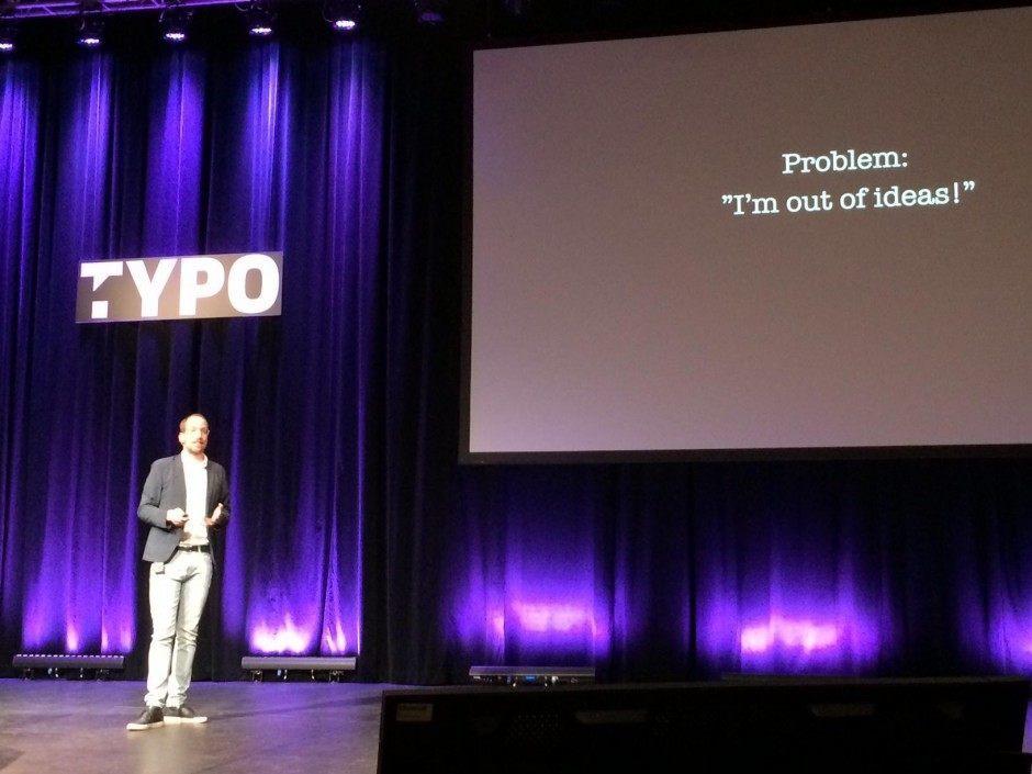 Christoph Niemann beim TYPO-Talk