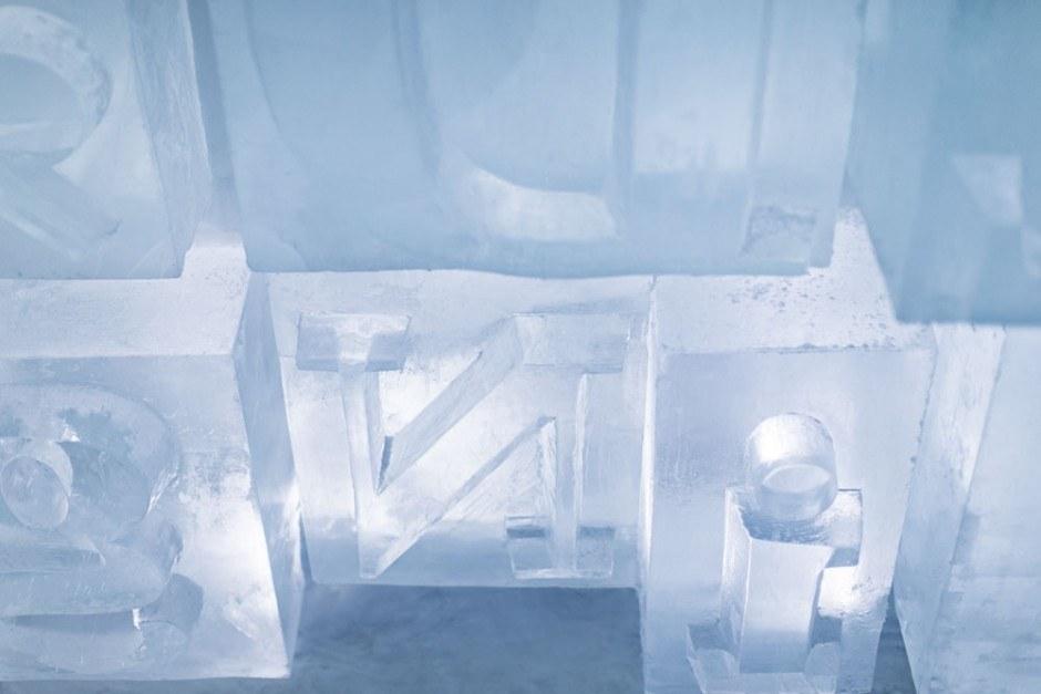 ICEHOTEL in Jukkasjärvi, Schweden