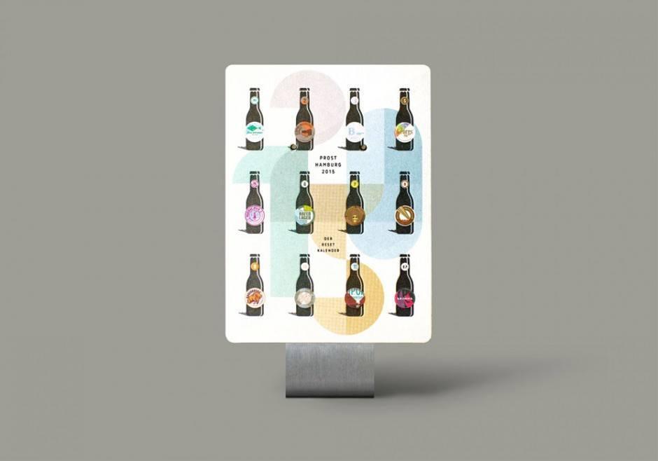 Kalender der Hamburger Druckerei Reset