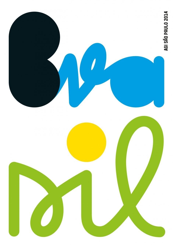 Plakatentwurf für die Designkonferenz AGI Open in São Paulo