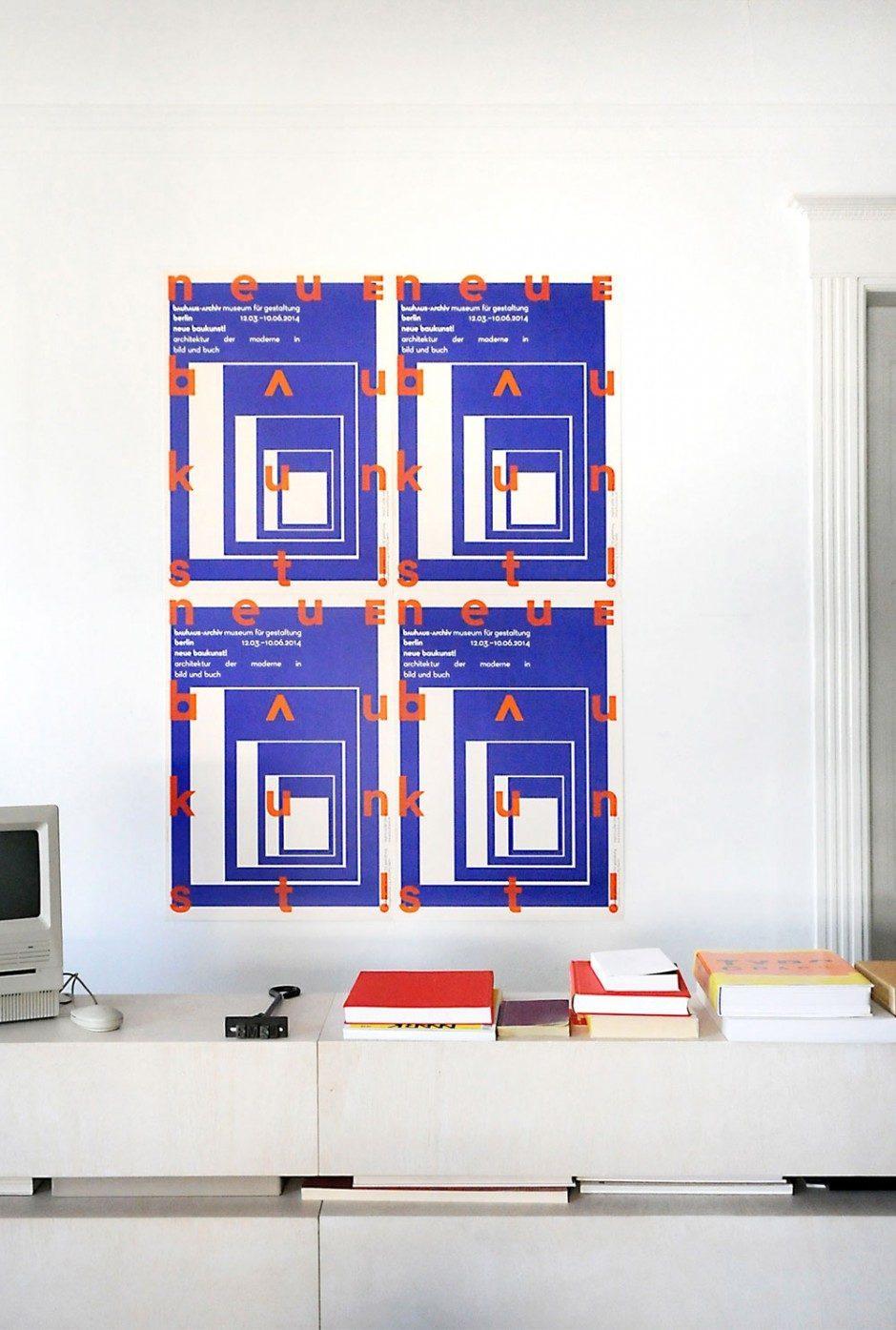 Plakate zur Ausstellung
