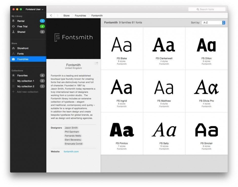 Fontstand Foundry