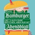 Eine Kampagne, die sympathisch ins Auge sticht! Kunde: Zeitungsgruppe Hamburg, Agentur: Oliver Voss, Illustrationen: Veronika Kieneke