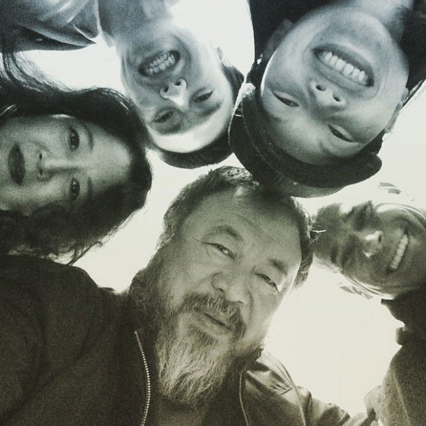 9. März, 2015, auf Instagram gepostetes Foto, Courtesy Ai Weiwei Studio