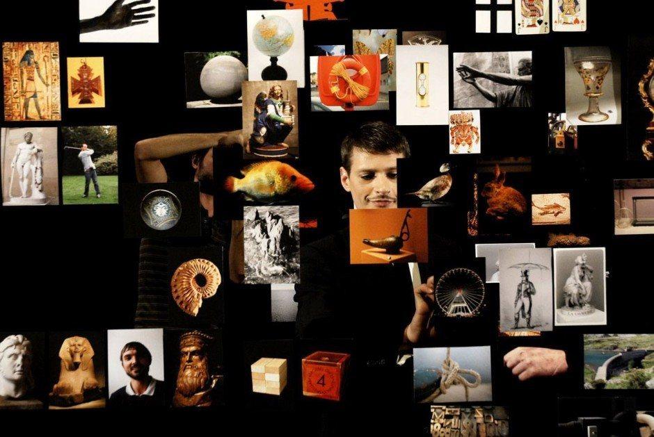 Théâtre de poche, 2007, mit Stéphane Corréas, HD video projection with sound, 12 minutes 27 seconds, Courtesy of the artist and Marcelle Alix, Paris