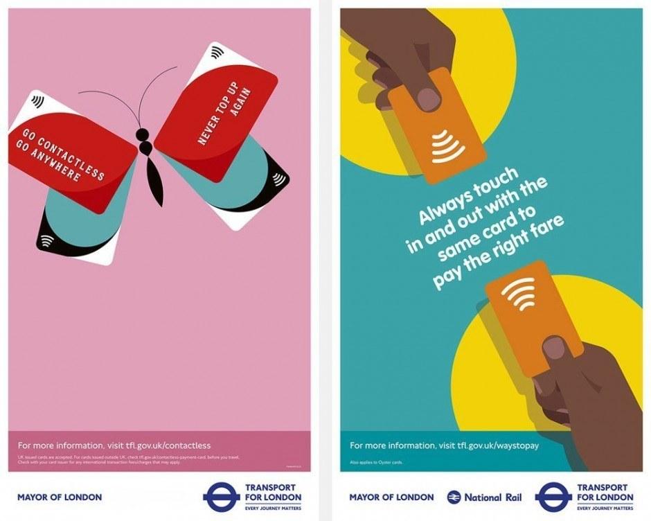 Die Londoner Verkehrgesellschaft Transport for London arbeitet immer wieder mit tollen Illustratoren zusammen. Diese Kampagne von M&C Saatchi verschönt die Stadt mit Bildern von Rob Bailey