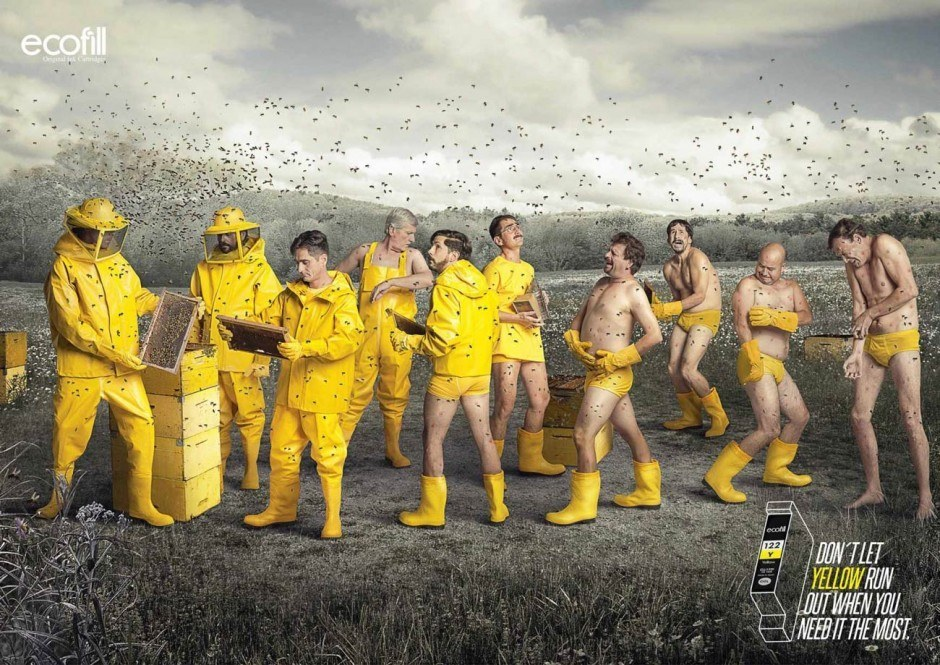 Im prüden Deutschland wären solche Werbebilder wohl nicht denkbar. In Kolumbien dürfte Ogilvy & Mather den Humor der Betrachter voll getroffen haben.