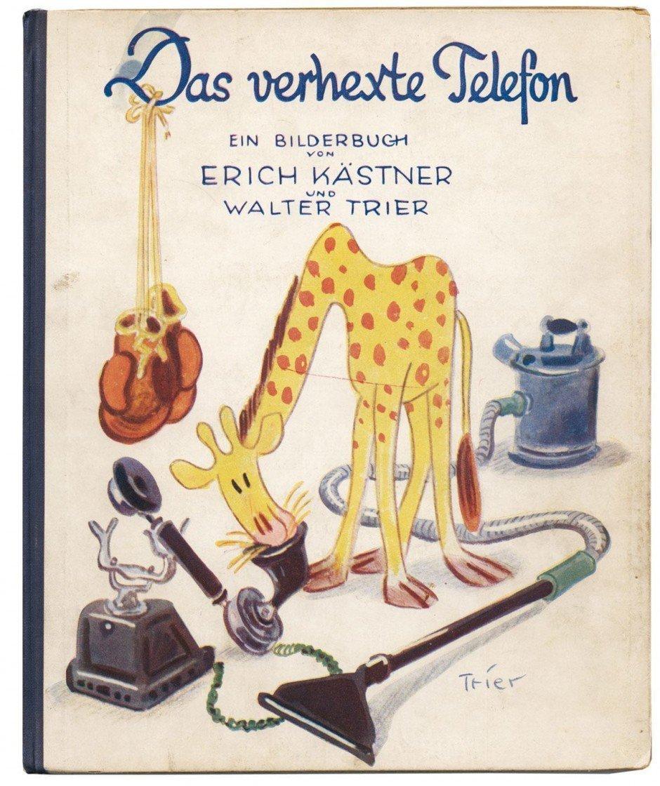 Wer kennt sie nicht, die wunder-bare Einbandillustration von Walter Trier zu »Emil und die Detektive«? Als Zeichner für die »Lustigen Blätter« und die Ullstein-Magazine »UHU« und »Die Dame« war Trier in den Zwanzigern einer der populärsten Zeichner Berlins. Dieses Bilderbuch wurde ausge-zeichnet als eines der »Fünfzig schönsten Bücher des Jahres 1931«. Weitere Arbeiten Triers, der 1936 Deutschland verließ, sind unter www.walter-trier.de zu sehen