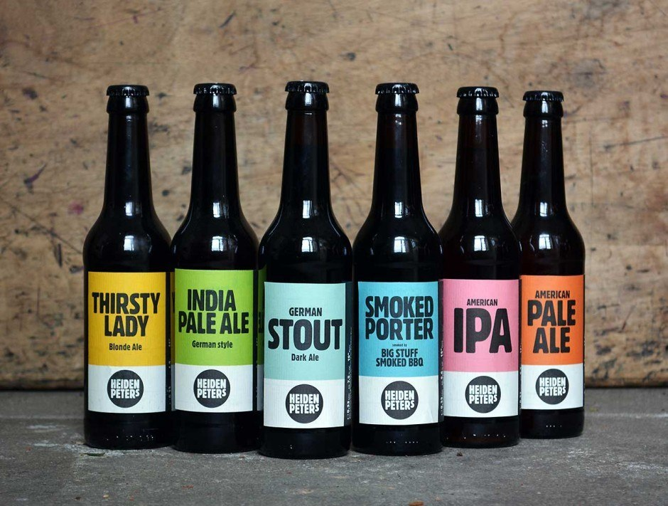 Etiketten für Berliner Craft Beer