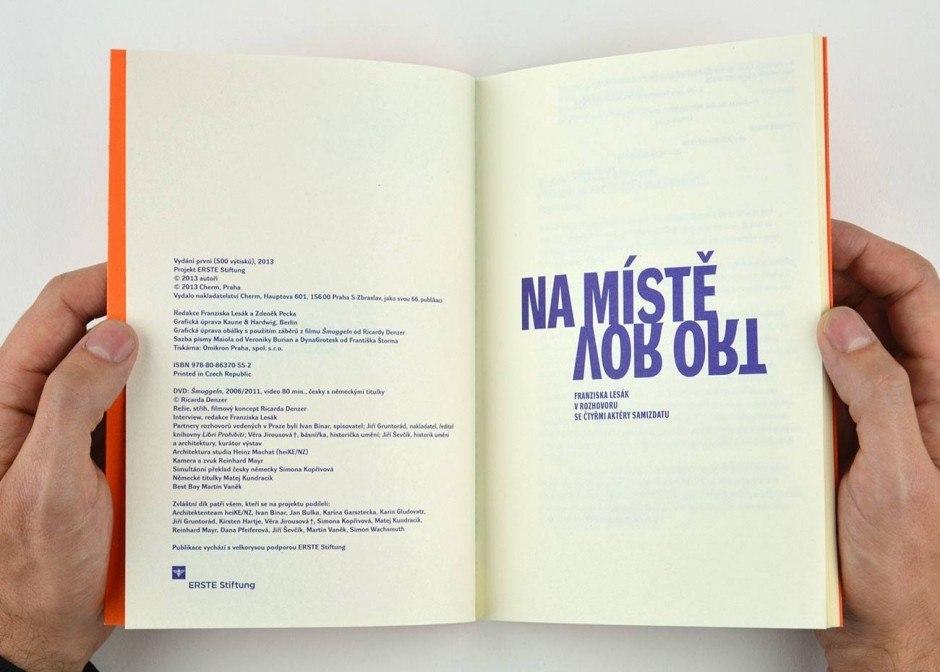 Broschur, zweisprachig deutsch und tschechisch