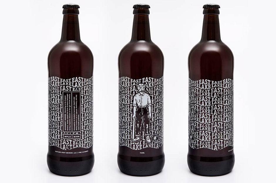 Coolstes Bier Branding für einen Busfahrer