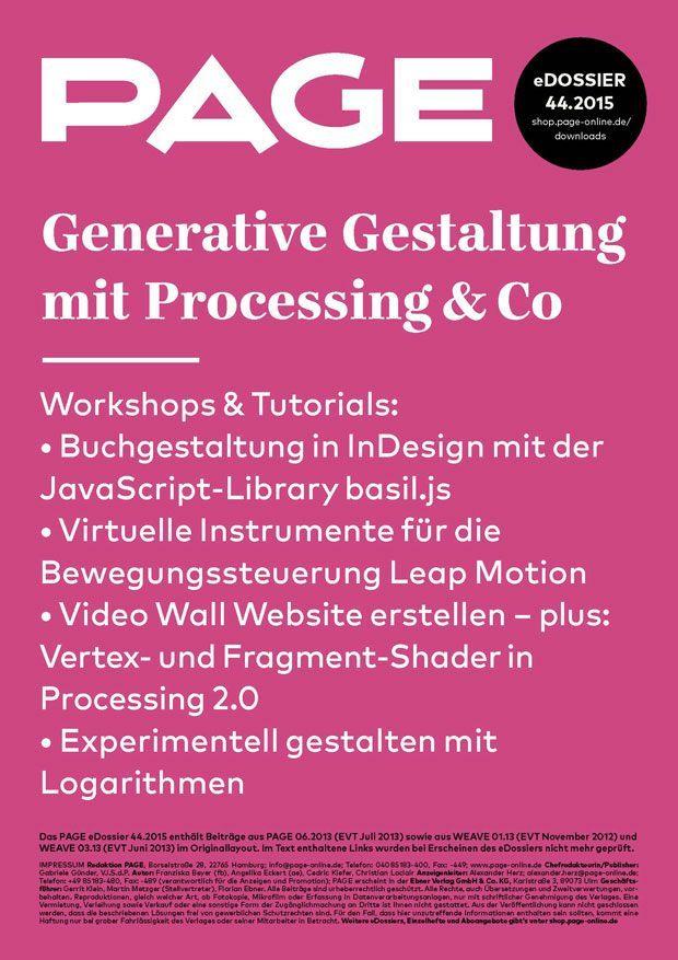 eDossier-442015-Generative-Gestaltung_Teaser