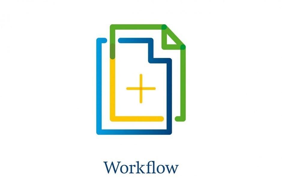 Piktogramm Workflow