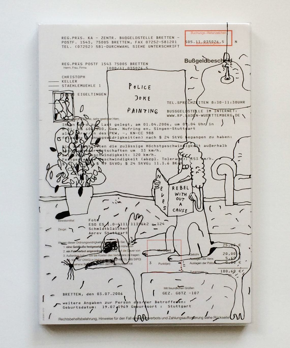 Christoph Keller und Stefan Marx, Rebel Without A Cause, Nieves Verlag