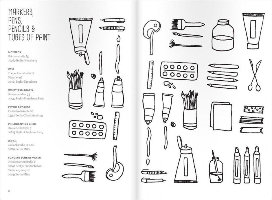 Mit Illustrationen von Anne van Haasteren – zum selbst weitermalen