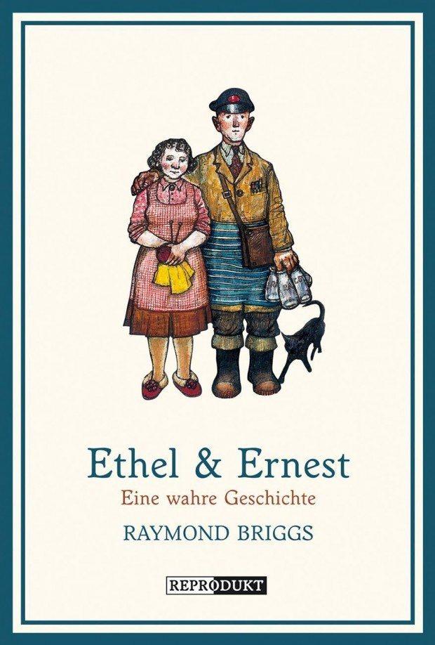 Raymond Briggs: Ethel & Ernest. Reprodukt Verlag, 104 Seiten. 20 Euro. 978-3-95640-022-3