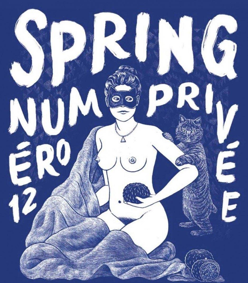 SPRING #12: Privée. mairisch Verlag, ca. 200 Seiten, 18 Euro. 978-3-938539-36-1