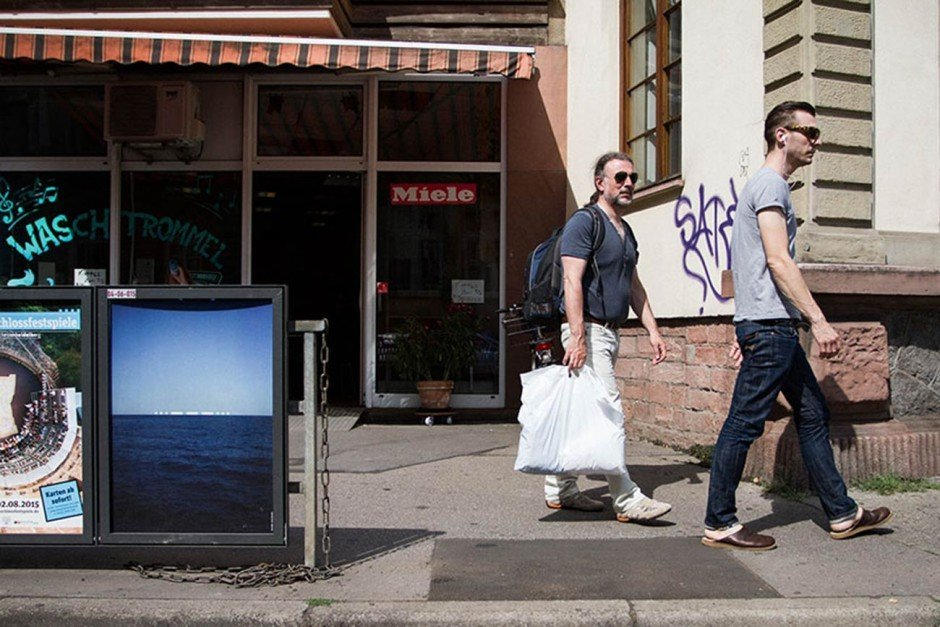 »Mut zur Wut« Plakate im öffentlichen Raum