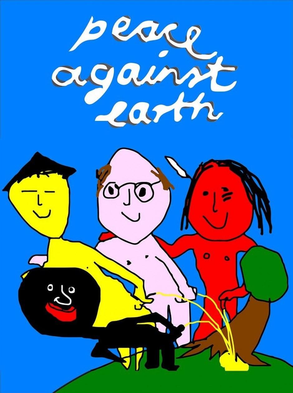 Ich habe versucht mich humorvoll den Themen Umweltzerstörung und Globalisierung zu nähern.