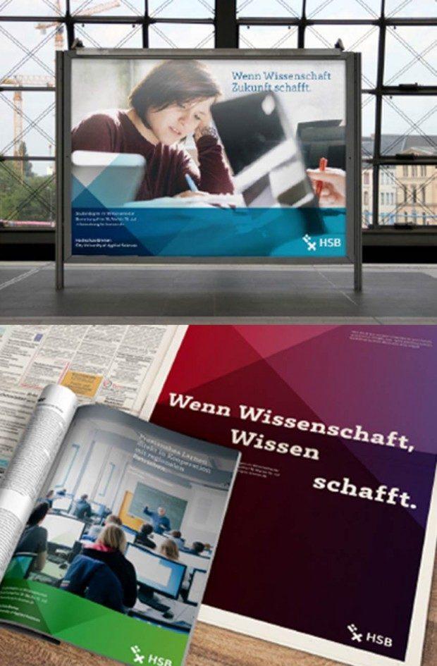 Werbetafel & Anzeige