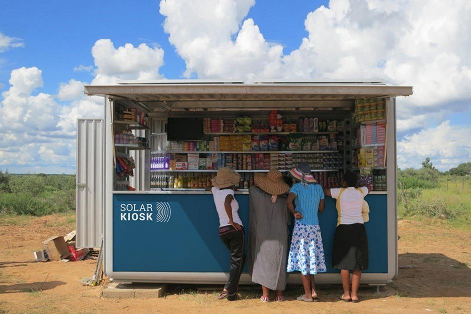 Corporate Design für Solar Kiosk