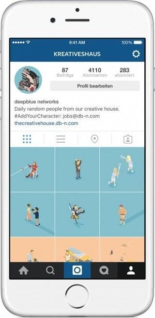 Das kreative Haus auf Instagram