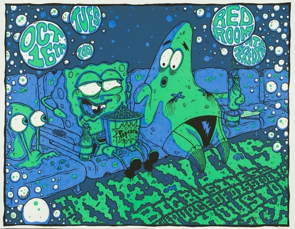 Jim Mazza, Melvins, 2007, Siebdruck, 50,8 x 66,2 cm