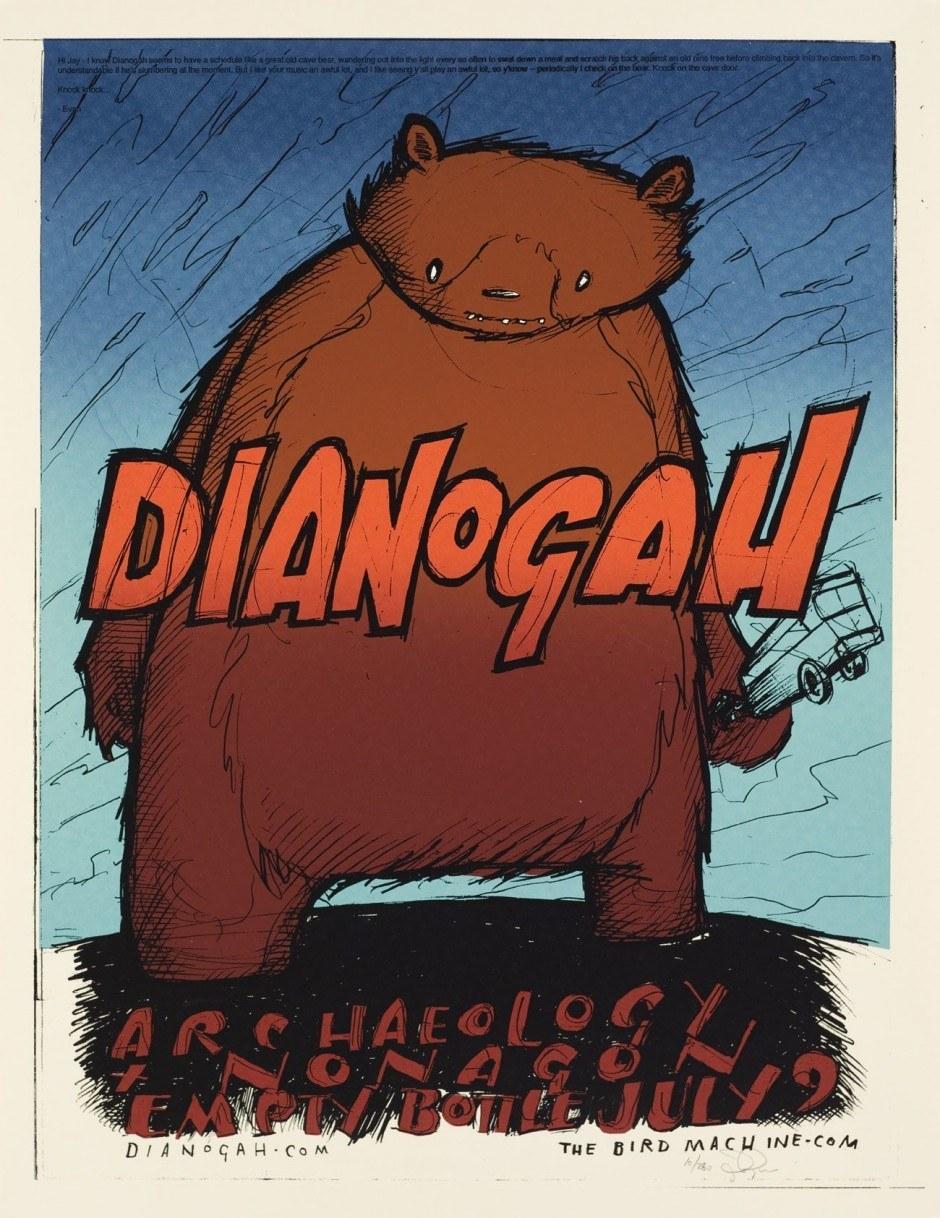 Jay Ryan, Dianogah, 2005, Siebdruck